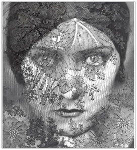 Gloria Swanson, famous shot by Steichen