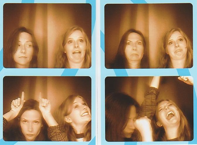 Lana and I, Photobooth, July 2013