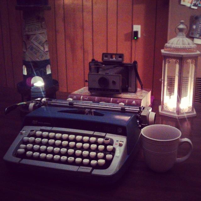 My Beautiful New Typewriter